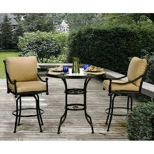 Outdoor Patio Furniture Bar Height Best 25 Bar Height Patio Set Ideas On Pinterest Diy Cable Spool