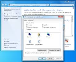 comment remettre la corbeille sur le bureau windows 7 icônes sous windows aidewindows