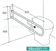 Toilet Handrail Simple 25 Bathroom Grab Bars For Disabled Design Ideas Of