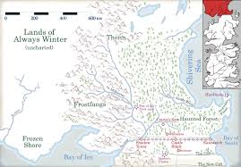 Where Does The Series Number On A Map Appear Game Of Thrones How The White Walkers Will Invade Westeros