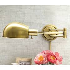 Addison Floor Lamp House Of Troy Addison Antique Brass Swing Arm Wall Lamp X5578