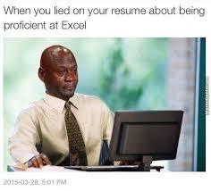 What Is A Meme Exle - i suck at excel by dead5dealer5 meme center