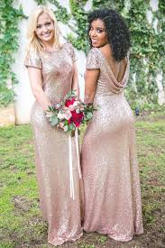 bridesmaid dress sequin bridesmaid dresses revelry