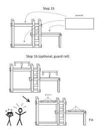 Plans For Triple Bunk Beds by Triple Bunk Beds With Plans Wooden Initials Bunk Bed Plans