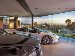 View Interior Of Homes Interior Of A Garage Yes You Read It Correctly In A Modern