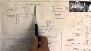 riding mower starting system wiring diagram part 1 youtube