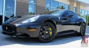 Ferrari California Black - kc trends showcase 20 modulare b1 matte black forged wheels on