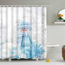 Curtain In Bathroom Best 25 Holiday Shower Curtains Ideas On Pinterest Christmas