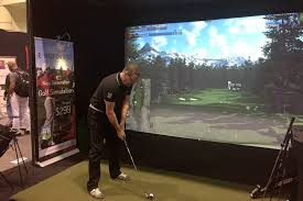 golf simulator home theater r motion golf first impressions digital trends