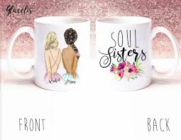 best friend gift soul sisters unique friendship gift on coffee