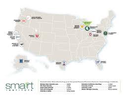 Ohio State University Map by Members Universities Smarrrt