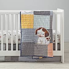 poky little puppy crib bedding the land of nod