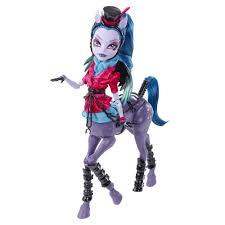 Monster High Dolls Halloween Costume Wanted Monster High Freaky Fusion Hybrid Avea Trotter Doll