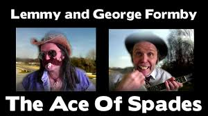 Lemmy Meme - so so funny george formby and lemmy ace of spades youtube