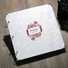 luxury wedding albums 70 best photo albums images on diy photo album ring