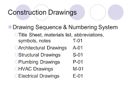 Architectural Drawing Sheet Numbering Standard by Construction Documents Ppt Video Online Download