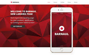 barnaul strong landing pages bootstrap landing pages