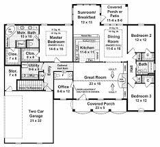 southern style house plan 3 beds 2 50 baths 2019 sq ft plan 21 135