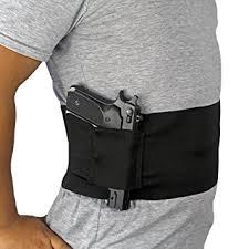 belly band holster depring adjustable elastic belly band holster for