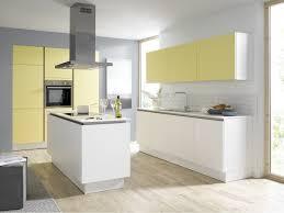 Yellow Kitchens Contur 51 180 55 100 Matt White And Pastel Yellow Kitchen