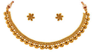 ethnic gold necklace images Jfl gold traditional and ethnic gold plated necklace set size jpg