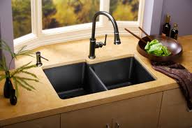 cucina kitchen faucets gourmet e granite double bowl undercount sink by elkayusa