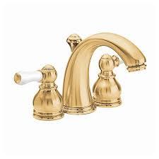 American Standard Hampton Kitchen Faucet by Shop American Standard Hampton Polished Brass 2 Handle Watersense