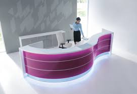Circular Reception Desk Captivating Design Circular Reception Desk Lobby Prodigious Big