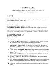 sample qa engineer resume quality engineer resume contact address