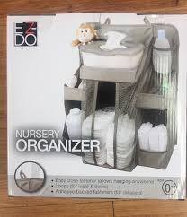 Hanging Changing Table Organizer Baby Caddy Ez Do Nursery Organizer Hanging
