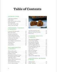 cookbook table of contents table of contents for everyday happy herbivore