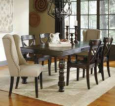 signature design by ashley gerlane 7 piece solid pine dining table