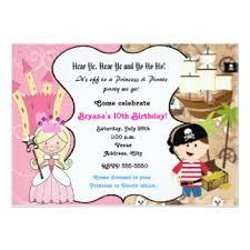 pirate party invitations u0026 announcements zazzle