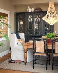 Side Chairs For Bedroom by The Farmhouse Style Dining Table Pairs With A White Slipcovered