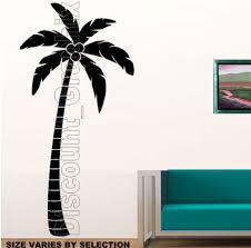 tropical tree wall decals color the walls of your house tropical tree wall decals palm tree tropical wall art decor sticker vinyl decal island beach