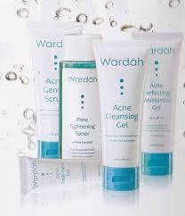 Wardah Krim Malam Dan Siang titin septiani fatimah kefir acne series wardah