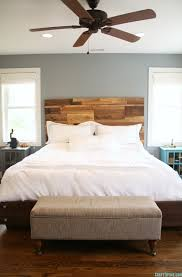 Barn Wood Headboard Building A Salvaged Wood Headboard U2022 Craft Thyme