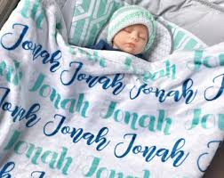personalization baby gifts personalized baby blanket etsy