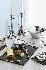 dining room silver dining table decor by michael aram silver dining table decor by michael aram bloomingdales for dining room decoration ideas