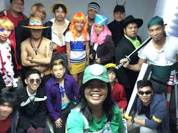 op themed halloween party my office mates tried onepiece