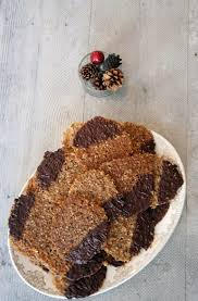 chocolate dipped hazelnut lace cookie recipe vintage mixer