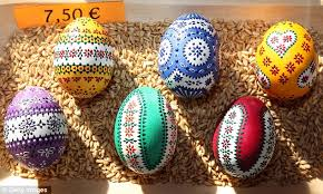 painted easter eggs pictured the painted easter eggs believed to ward evil