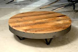 coffee table rustic round white marylouise parker org