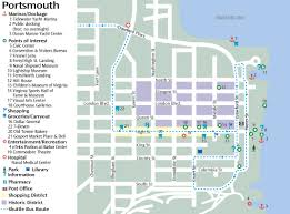 Map Of Norfolk Virginia by Portsmouth Va Shore Things