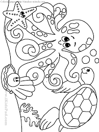 coloring pages of ocean animals