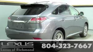 lexus richmond service 2013 lexus rx 400h pre owned at lexus of richmond youtube