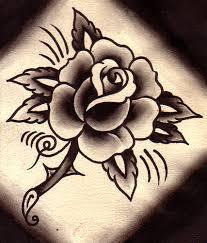 rose tattoo flash traditional rose tattoos rose tattoos and