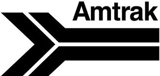 amtrak old logo and letters vinyl decal