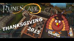runescape thanksgiving event 2015 playthough