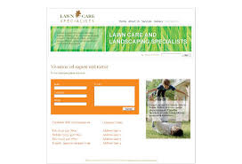 lawn care mowing web template pack from serif com